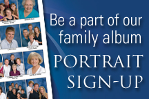 Be a part of our family album